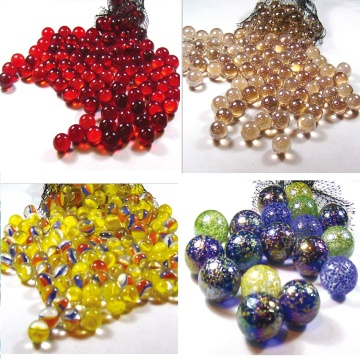 Colorful Vase Filler Glass Marbles Glass Beads