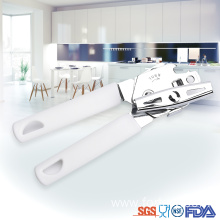 Europe style for Safe Can Opener White Light plastic handle Bottle Can opener supply to Armenia Factory
