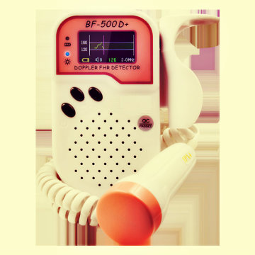 Pocket Fetus Cardiology Continuous Monitor Doppler