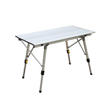 Aluminum Height Adjustable Folding Table Outdoor