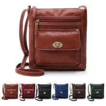 Fashion Womens PU Leather Shoulder Satchel Crossbody Bags