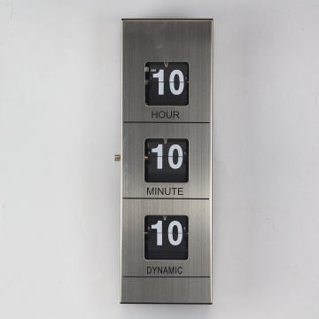 Mini Mental Flip Wall Clock