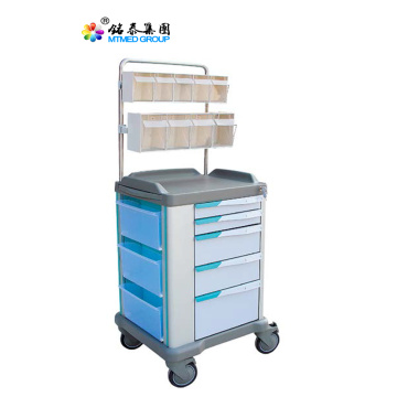 Lock medical anesthesia cart