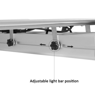 Phlizon White Color 400W Led Grow Lightbar