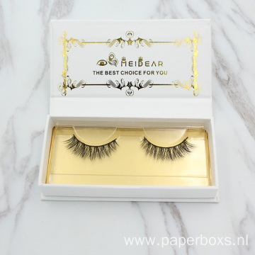 Custom Book Shape  False Eyelash Paper box