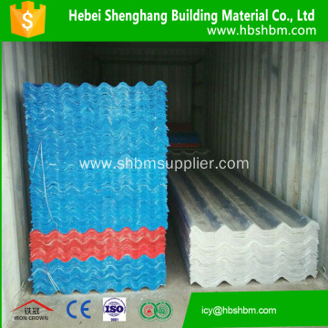 Heat Resistant Glazed MgO Roofing Sheet