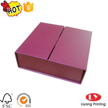 Fancy gift special folding box with magnet