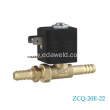 OEM Factory for Welding Machines Tube Solenoid Valve Brass Tube Connector 8mm Solenoid Valve export to Nigeria Manufacturer