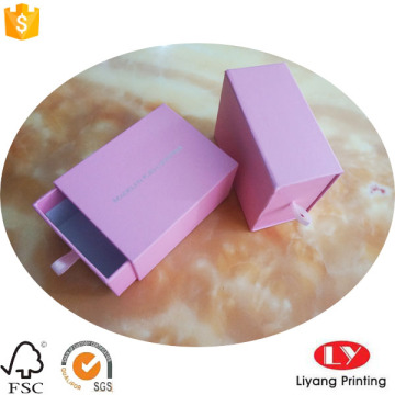 Stamping Sliding Paper Box with Pouch Inside