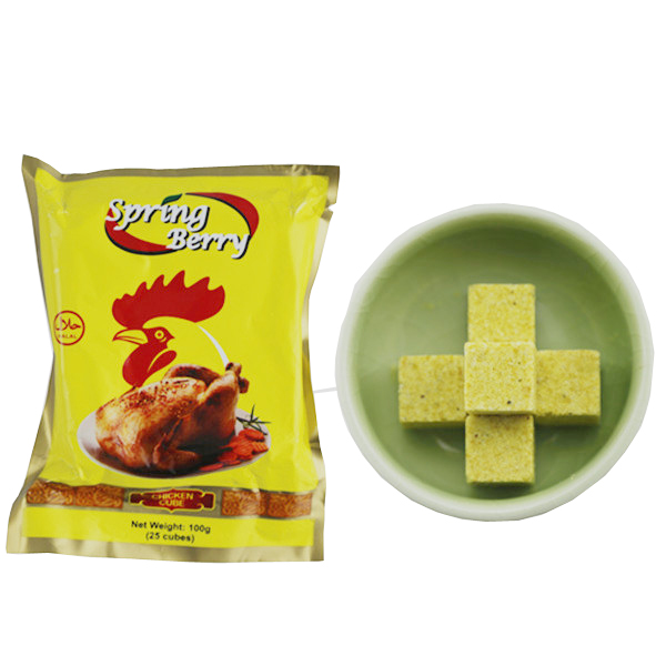 Seasoning Powder and cube Chicken flavor