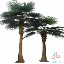 Customized artificial palm tree