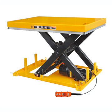 Heavy Duty Stationary Electric Hydraulic Scissor Lift Table