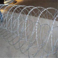 BTO-22 galvanized concertina razor wire safety fencing