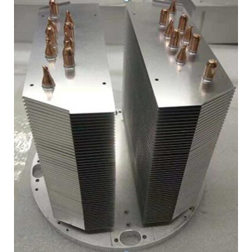 Nickel Plate 600W Aluminum Copper Pipe Heatsink
