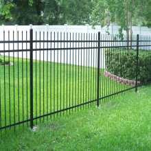 High reputation for Airport Fence Metal Ornamental Fences Palisade Fence export to India Factories