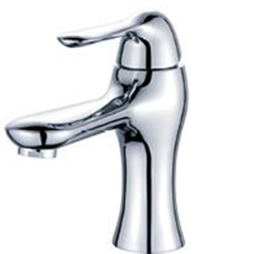 Brass construction Chrome Basin Mixer