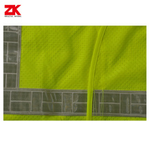 OEM for Safety Work Vest Mesh safety vest with PVC id pocket export to Ireland Supplier
