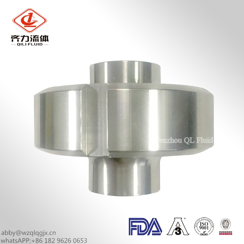 Sanitary Pipe Fitting Union Round Nut Line