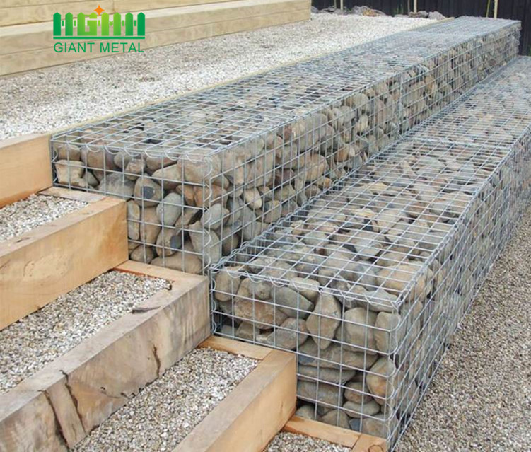 Hot Dipped Galvanized Stone Welded Mesh Type Gabion