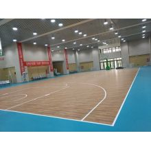 Indoor Vinyl Basketball Court Floor