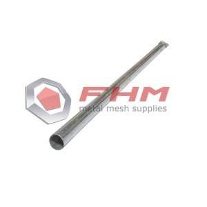 Galvanized Metal Round Post for Fence