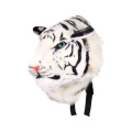 Fanala Cool Huge Animal Style Backpack Tiger Head Lion White Tiger Head Bags Knapsack
