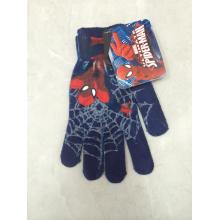 Sublimation Printing Polyester Children Knitting Gloves
