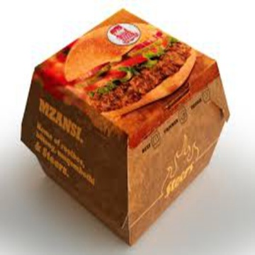 Wholesale hamburger boxes cardboard printing customer logo