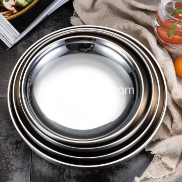 Double Insulated Japanese Stainless Steel Plate
