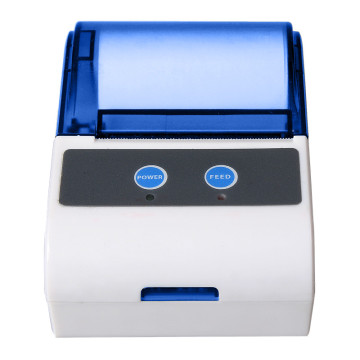Mobile bluetooth mini barcode label printer for android phone and tablet