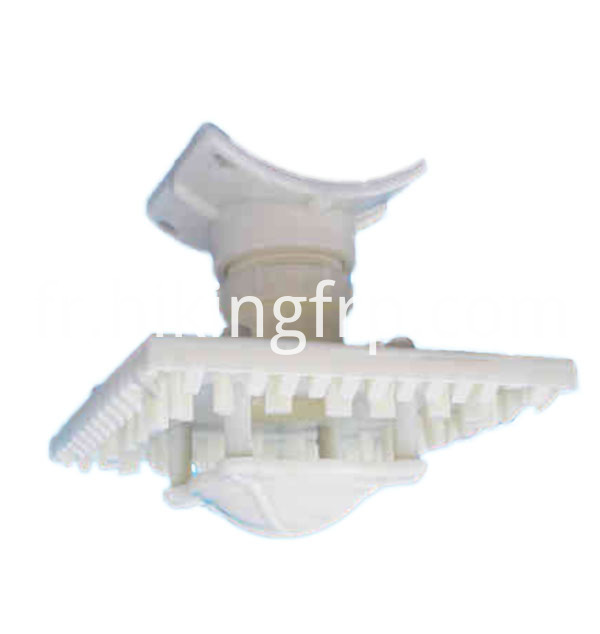 Plastic Water Spray Spiral Nozzle