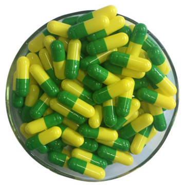 Hot Sale Different Size Yellow Green Empty capsules