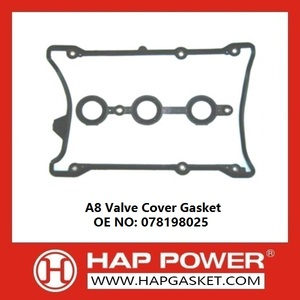 High Quality for Wear Resistant Valve Cover Gasket Audi A8 Valve Cover Gasket 078198025 supply to Albania Supplier