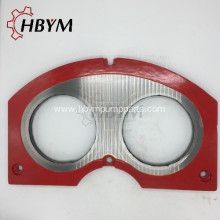 Factory Promotional for Wear Plate And Cutting Ring Cifa Concrete Pump Spectacle Wear Plate supply to Armenia Manufacturer