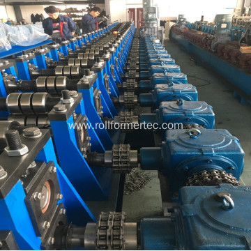 Metal silo water tank rollforming and bending machine