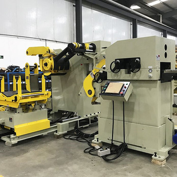 Coil Straightener Feeder Compacted Press For Metal Stamping