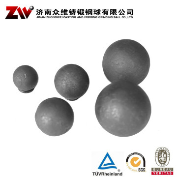 Hot rolling Forged grinding balls for mining 60mm