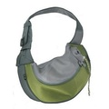 Olive PVC and Mesh Pet Sling