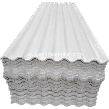 High Strength Fireproof Mgo Glazed Roofing Sheet