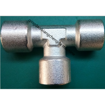 Brass Female BSPP Thread Tee Junction Fittings