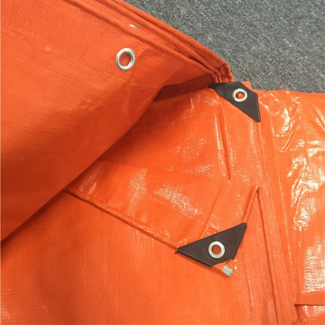 Super Heavy Duty Coated Orange Tarpaulin