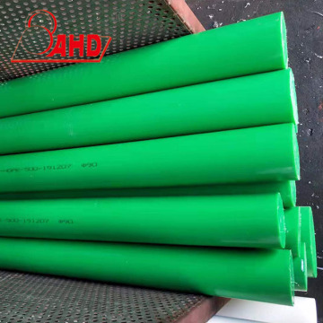 Green Round PE Rod High Density HDPE rod
