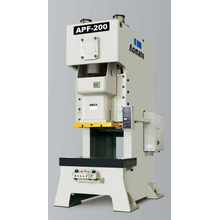 series open type single crank press machine
