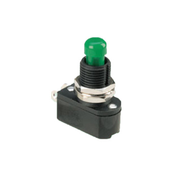 Electric SPST Power Automotive Push Button Switches