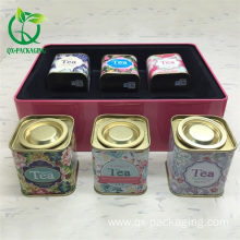 Leading Manufacturer for China Tea Tin Box,Rectangular Tin Containers,Square Metal Tins Wholesale Empty tea storage box  for sale export to India Exporter