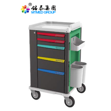 Clinic medical drug delivery cart