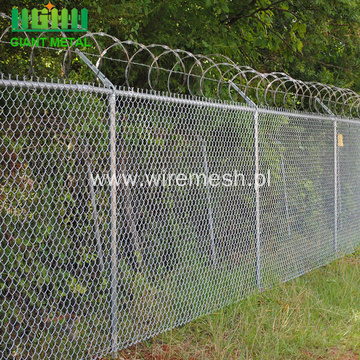 Hot Sale Chain Link Mesh Airport Fence