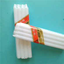 Long Burning  Household White Pillar Candles