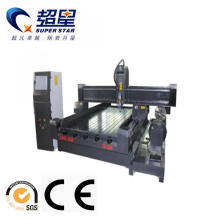 Good Quality for China Column Engraving Machine,Stone Engraving Cnc Router,Stone Cnc Router Factory Acrylic/Stone /Wood /Aluminum CNC Router Machinery supply to French Polynesia Manufacturers