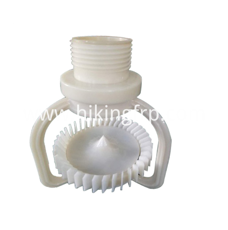 Sprial Nozzle With Plastic